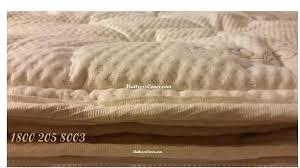 air bed mattress cover organic pillow top 1 800 205 8003
