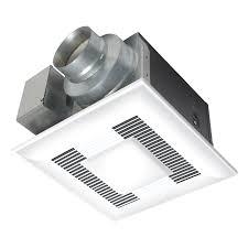 bathroom light fan combo lowes shop panasonic 0 3 sone 80 cfm white bathroom fan energy star at