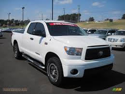 mitsubishi warrior 2010 2010 toyota tundra trd rock warrior double cab 4x4 in super white