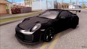 porsche 911 gt2 rs 2017 sa plate for gta san andreas