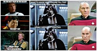 Best Star Wars Meme - 15 insanely hilarious star wars vs star trek memes best of comic