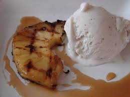 grilled pineapple with rum reduction sauce recipe rum