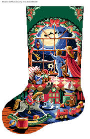 must be st nick stocking 1 calze di natale pinterest cross