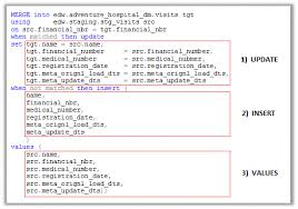 Sql Declare Temp Table Using The Merge Statement In Ssis Via A Stored Procedure