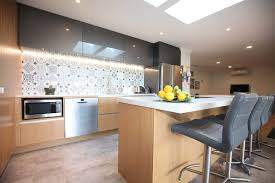 eclectic mix for creative kitchen renovation in clevedon