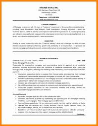 Mortgage Resume 7 Mortgage Cover Letter New Hope Stream Wood