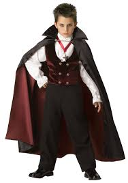 Halloween Costumes Toddlers Boy Boys Gothic Vampire 100 Polyester Maroon Velvet Double