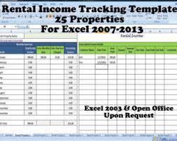 Property Management Excel Template Rental Property Management Template Term Rentals Rental