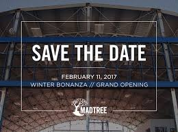 madtree brewing sets grand opening date for new 2 0 brewery and
