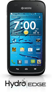 kyocera android kyocera hydro edge 4g android smartphone from sprint