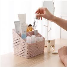 Makeup Organizer Storage Box Desk Care Plastic Storage Drawer Boxes