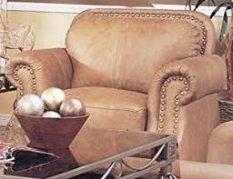 Savannah Club Chair Amazon Com Savannah Caramel Color 100 Leather Sofa Couch Chair W
