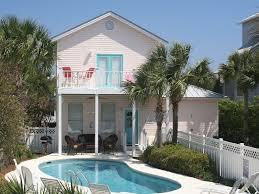 destin beach house rentals on the beach with pool home