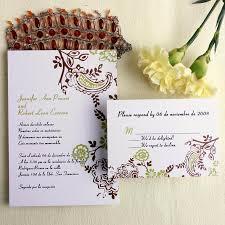 wedding invitations order online cheap wedding invitations free response card printed envelops v p