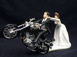 harley cake topper motorcycle wedding cake topper w black harley davidson