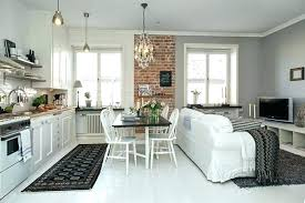 photo de cuisine ouverte sur sejour agencement de cuisine ouverte cuisine ouverte sur salon 30m2 4 idee