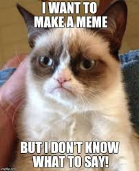 I Want To Make A Meme - the trouble of making memes imgflip