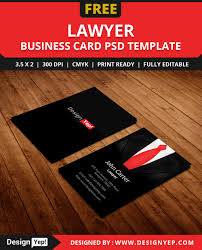 free lawyer business card template psd free business card