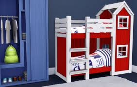 Bunk Beds For 4 My Sims 4 Mattresses For Toddler Bunk Beds By Greengirl100