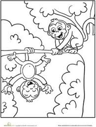 animal coloring pages for kids safari friends animal coloring