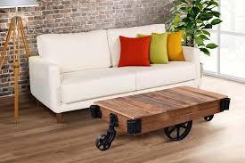 railroad cart coffee table urban railroad cart coffee table industrial craftsman