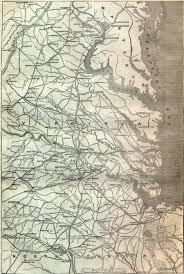 Map Of Virginia by Civil War Map Of Virginia