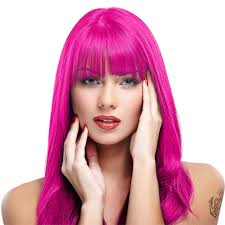 hot pink colour manic panic high voltage classic cream formula hot hot pink colour
