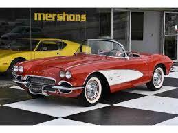 1961 chevy corvette 1961 chevrolet corvette for sale on classiccars com 45 available