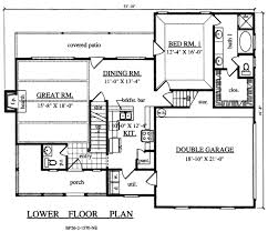 country style house floor plans country style house plan 3 beds 2 50 baths 1570 sq ft plan 42 342
