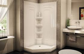 Bathroom Stalls Without Doors Bathroom Design Charming Home Depot Shower Stalls In White