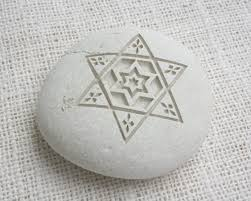 jewish home decor star of david home decor paperweight art collections