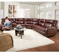 Leather Motion Sectional Sofa Maverick 550 Reclining Sectional Sofas And Sectionals