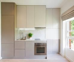 small kitchen with cooktop kitchen contemporary with handleless