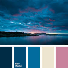 Colorcombinations Imagine The View Of The Sky Before Sunset Over The Sea This