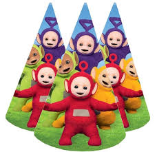 party hats teletubbies birthday decorations teletubbies party hats partyweb us