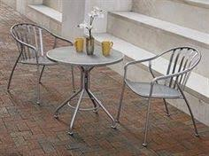 Wrought Iron Commercial Bistro Chair Meadowcraft Wrought Iron 30 Round Micro Mesh Bistro Table