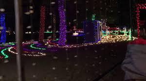 christmas lights train ride mccormick stillman railroad park christmas train ride 2017 youtube