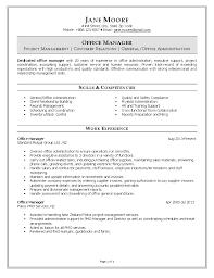 Front Desk Cv Sensational Idea Resume For Office Manager 10 Office Cv Sample