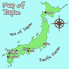Sea Of Japan Map About Japan Japanese Joy