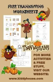 free thanksgiving worksheets kiddyhouse thanksgiving