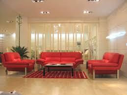 red living room set new york modern red sofa set