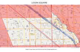 Chicago On A Map by Logan Square Chicago Photos Chicago Photos Images Pictures