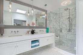 bathroom frameless mirrors stunning large bathroom vanity with frameless vanity mirrors for