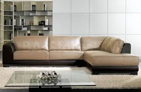 Living Room Design With Brown Leather Sofa Furniture Awesome Living Room Design With Contemporary Sectional