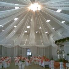 Wedding Reception Decorations Lights Decorating Ideas Using Tulle How To Decorate A Wedding Reception