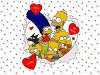 simpsons valentines day card the best of happy valentines day wallpapers simpsons valentines day