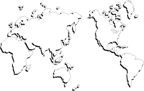 outline of world map free printable world maps outline world map