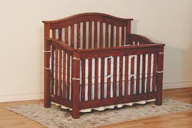 How To Convert Crib Into Toddler Bed by Convertible Cribs Amish Custom Furniture