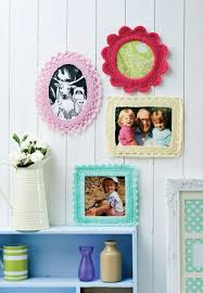 free crochet home decor patterns fancy picture frames free crochet pattern 365 crochet fancy