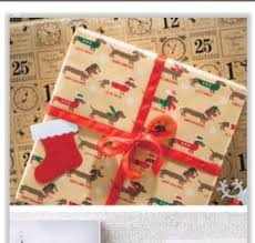 dachshund christmas wrapping paper doxie wrapping paper this one s sold at target all things